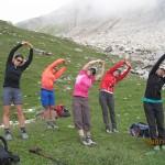 GR Durchquerung - Yoga in der Natur