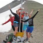 GR Durchquerung 2015 - Gute Laune auf der Tijerfurgga